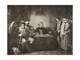 The Seven Ages of Man, Fifth Age, Act II, Scene Vii, from 'As You Like It', from the Boydell… Giclee Print by Robert Smirke