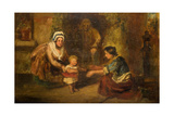 First Steps, 1830-67 Giclee Print by John Phillip