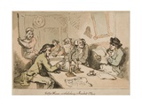 Coffee House in Salisbury Market Place, 1784 Giclee Print by Thomas Rowlandson