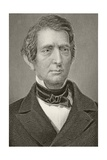 William Henry Seward, from 'Gallery of Historical Portraits', Published C.1880 Giclee Print