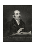 Robert Hall, Engraved by Samuel Freeman (1773-1857) from 'National Portrait Gallery, Volume III',… Giclee Print by J. Flowers