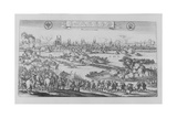 The Sack of Magdeburg by the Imperial Troops under Tilly During the Thirty Years' War on 20 May… Giclee Print by Matthaus, The Elder Merian