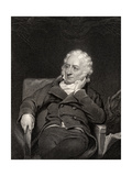 Henry Fuseli, Engraved by J. Rogers, from 'National Portrait Gallery, Volume V', Published C.1835 Giclee Print by George Henry Harlow