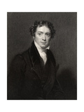 Michael Faraday, Engraved by J. Cochran, from 'National Portrait Gallery, Volume V', Published… Giclee Print by Henry William Pickersgill