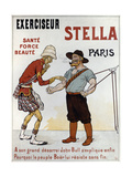 Poster Advertising the Exercise Machine 'stella' Giclée-tryk af Eugene Oge