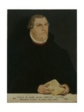 Portrait of Martin Luther, 1568 Giclee Print by Lucas Cranach the Younger