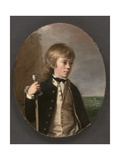 Portrait of Sir Henry William Bayntun, 1780 Giclee Print by Thomas Hickey