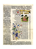 Fol.138 from 'The Rothschild Miscellany', Northern Italy, C.1450-80 Giclee Print