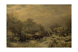 The Mail Coach, 1855 Giclee Print by Samuel Bough