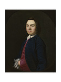 Portrait of a Gentleman, Late 1740s Giclee Print by William Keable