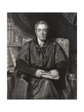 Rev. Samuel Lee, Engraved by William Thomas Fry (1789-1843) from 'National Portrait Gallery,… Giclee Print by Richard Evans