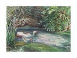 Ofelia Lámina giclée por Sir John Everett Millais
