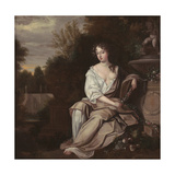 Portrait of Nell Gywn with Frame, 1670s Giclee Print by Sir Peter Lely