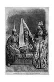 Druze Princess, from 'La Syrie D'Aujourd'Hui. Voyages Dans La Phenicie, Le Liban Et La Judee.… Giclee Print