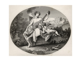 Hymen and Cupid, from 'The Works of William Hogarth', Published 1833 Giclee Print by William Hogarth