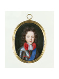Miniature of James Stuart, the Old Pretender, C.1700 Giclee Print by Jacques Antoine Artaud