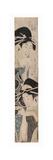 Two Courtesans, One with a Sake Cup, C.1795-1804 Giclee Print by Kitagawa Kikumaro