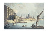 View of Somerset House and the Thames, 1796 Giclee Print by Thomas Malton