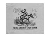 The War Candidate on a Peace Platform, Published by American News Co., New York, 1864 Giclee Print