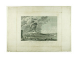 Eruption of Vesuvius, 1794 Giclee Print by Anna Allesandro