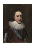 Charles I When Prince of Wales, Early 1620s Lámina giclée por Daniel Mytens