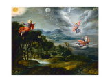 The Creation of Heaven, Earth and Water Giclee Print by Willem Van The Elder Herp