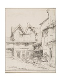 Courtyard of the George Inn, 1813 Giclee Print by W.H. Charlton