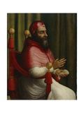 Portrait of Pope Clement Vii, after 1532 Giclee Print by Giuliano Bugiardini