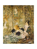 The Coming of Spring, 1899 Giclee Print by Edward Atkinson Hornel