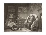 The Seven Ages of Man, Seventh Age, Act II, Scene Vii, from 'As You Like It', from the Boydell… Giclee Print by Robert Smirke