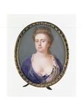 Miniature of Queen Anne Giclee Print by Christian Richter