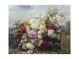 Still Life with Flowers Giclee Print by Jean Baptiste Robie