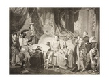 A Bedchamber in the Lord's House, Induction, Scene II, from 'The Taming of the Shrew', from the… Giclee Print by Robert Smirke