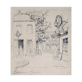 James Mcneill Whistler in the Cremorne Gardens, Chelsea, 1869 Giclee Print by Walter Greaves