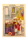 A Scene from the Council of Constance, from 'Chronik Des Konzils Von Konstanz' Giclee Print by Ulrich Von Richental