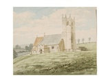 Imber Church, C.1867 Giclee Print by Robert Kemm