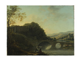 Lismore Castle from the East Giclee Print by William Ashford