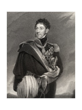 Stapleton Cotton, 1st Viscount Combermere, Engraved by J. Jenkins, from 'National Portrait… Giclee Print by Cornelius Pearson