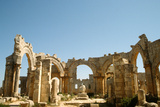 The Central Court of Church of St. Simeon, Constructed in 459-490 Photographic Print