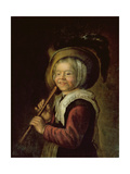 Girl with a Recorder Giclee Print by Jan Miense Molenaer