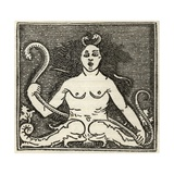Figure of Medusa, from 'A Catalogue of a Collection of Engravings, Etchings and Woodcuts', by… Giclee Print