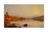 Lake Wawayanda, 1876 Giclee Print by Jasper Francis Cropsey