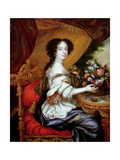 Portrait of Barbara Villiers, Duchess of Cleveland Giclee Print by Henri Gascard