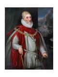 Charles Howard, 1st Earl of Nottingham Lámina giclée por Daniel Mytens