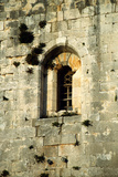 Detail of a Window in the Donjon of Chastel Blanc, Built in 1188 Photographic Print