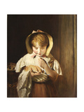 Counting Her Change Giclee Print by William Owen