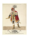 George Frederick Cooke as Richard III, Act IV, Scene II, 1800 Giclee Print by Robert Dighton