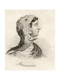 Alexander the Great, from 'Crabb's Historical Dictionary', Published 1825 Giclee Print