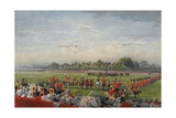The First Distribution of the Vc by Queen Victoria, Hyde Park, 26th June 1857, Published by Henry… Giclee Print by George Housman Thomas