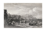 Pozzuoli, the Ancient Town of Puteoli, Engraved by William Richardson (1842-77) from 'The… Giclee Print by William Leighton Leitch